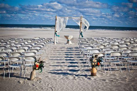 Gorgeous beach ceremony space   Beach Wedding at Hotel