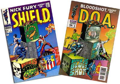 Nick Fury #1/Bloodshot #5