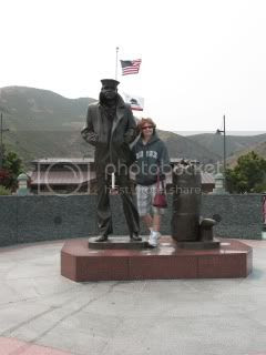 Me and Merchant Marine Memorial