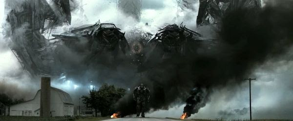 The Decepticon called Lockdown arrives on Earth in TRANSFORMERS: AGE OF EXTINCTION.