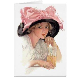 Sipping Soda card