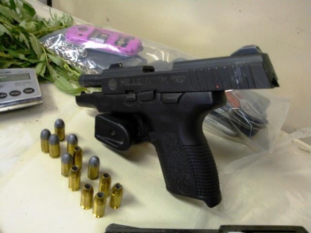 pistola filho vereador