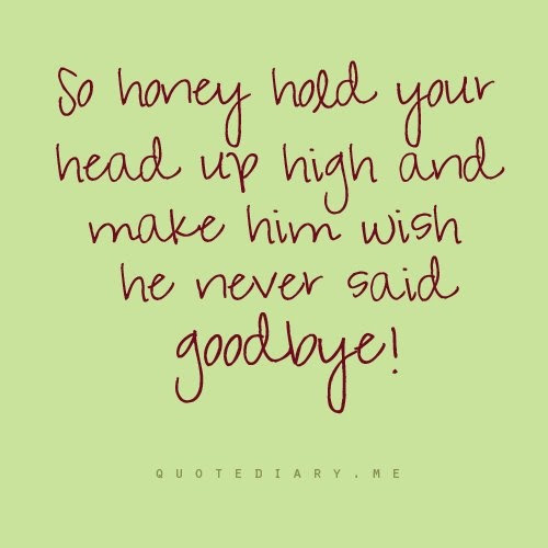 Hold Your Head Up High Quotes Quotes