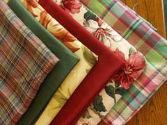 Stash fabrics for summer patterns