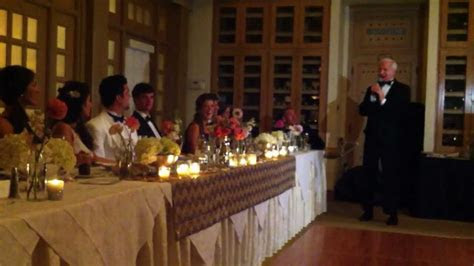 dads toast   daughter   wedding youtube