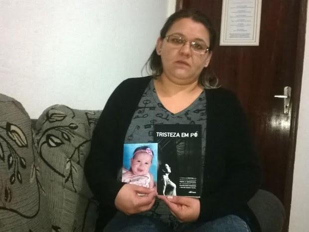 Daniele Toledo do Prado mãe acusada por matar filha com cocaína na mamadeira e depois inocentada em Taubaté (Foto: Poliana Casemiro/G1)
