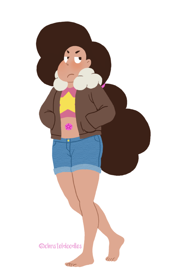 what a wonderful episode!! i liked seeing stevonnie (and steven!) angry, it's a new dynamic and it's certainly relatable! please don't repost or delete caption/credit