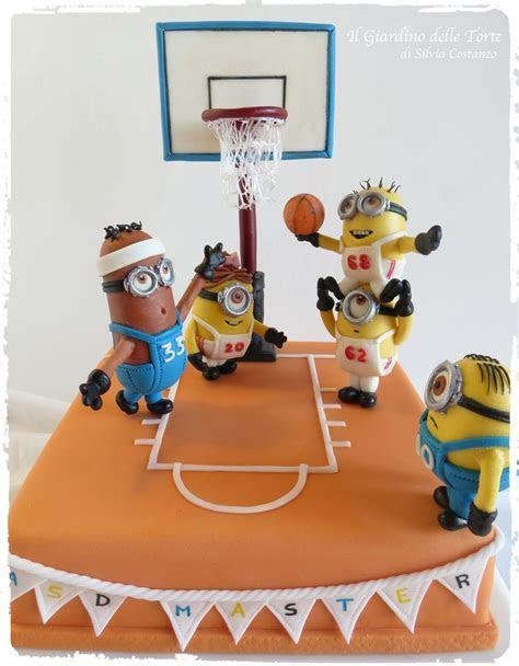 Minions Basketball Team Cake   CakeCentral.com
