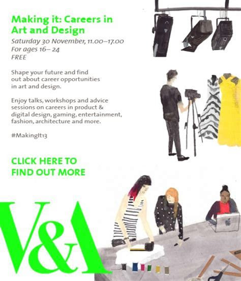 Art and Design Careers Event at London V&A Museum   Solopress