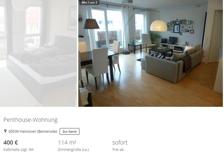 penthouse wohnung 30539 hannover bemerode vorkassebetrug fraud scam. Black Bedroom Furniture Sets. Home Design Ideas