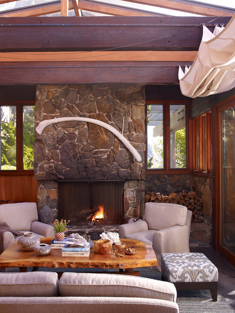 Native Woods - Contemporary - Living Room - los angeles ...