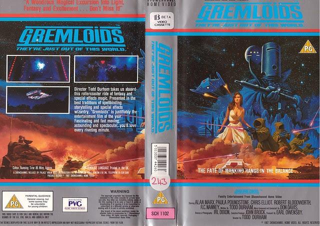 GREMLOIDS (VHS Box Art)