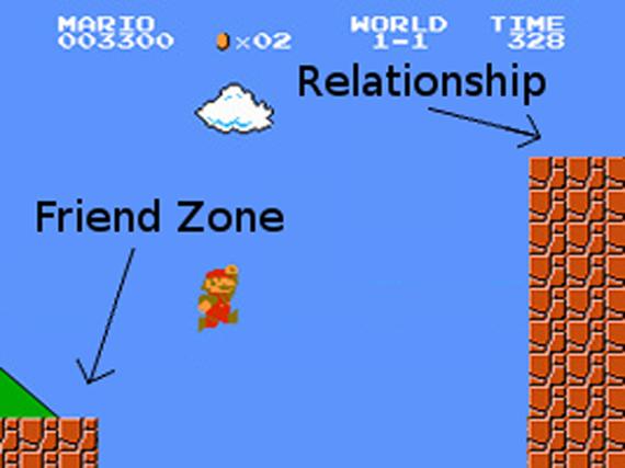 friendship zone mario