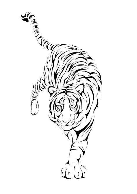 amazing white tiger tattoo design  debybee
