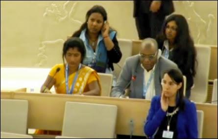 Ananthi Sasitharan at UNHRC