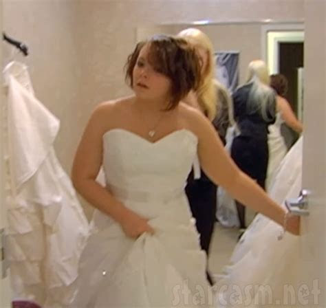 VIDEO PHOTOS Catelynn Lowell tries on wedding dresses