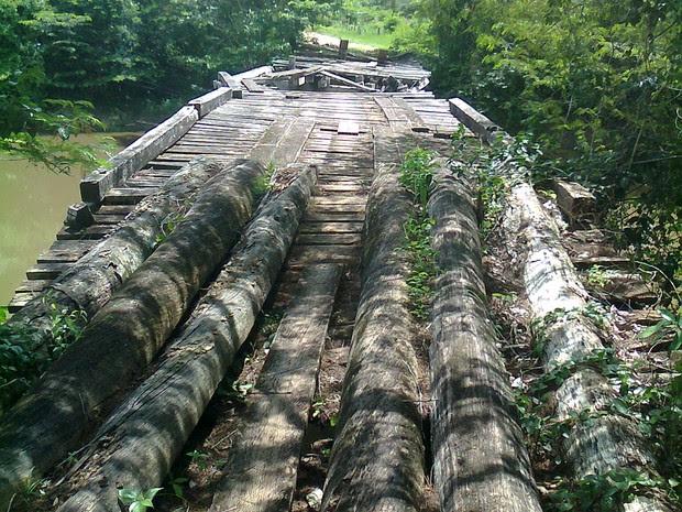 Un ponte nella Vila Serra Dourada (Foto: Adysson Karate)