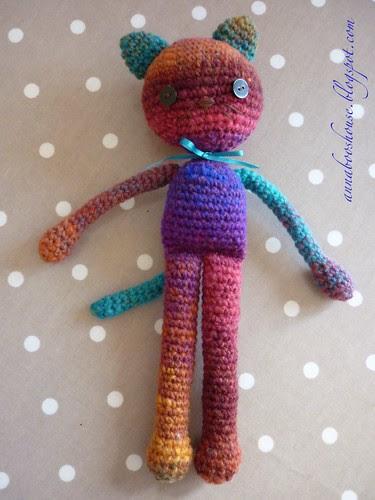 Kureyon Crochet Cat