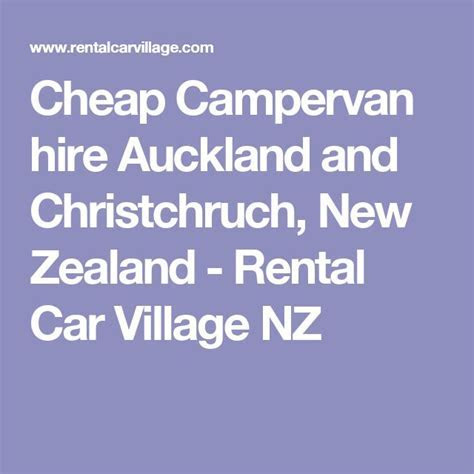 25  best ideas about Car hire new zealand on Pinterest