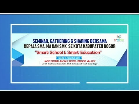 Dokumentasi Seminar,Gathering & Sharing bersama Kepala SMA,MA & SMK SeKota & Kabupaten Bogor