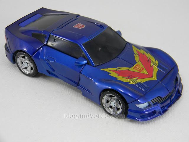 Transformers Tracks United Deluxe - modo alterno
