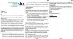 SLCC refusal of compensation amount awards FOI