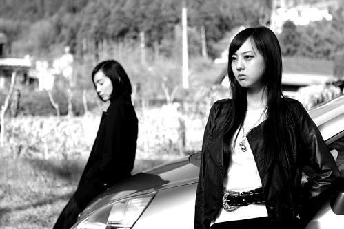 Kiki Sugino and Tomoe Shinohara in EXHALATION