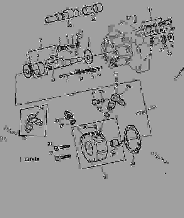 31 John Deere 1020 Parts Diagram