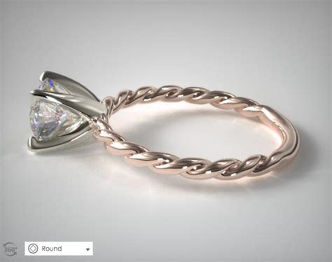 A David Yurman Cable Engagement Ring Imposter