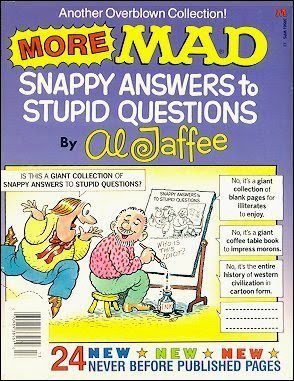 snappy answers al jaffe book