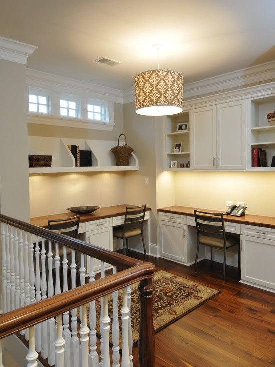 Why not add multiple desks in your office? More work space for you and your family. #remax #remaxnova #office #homeoffice #cohenmacinnis