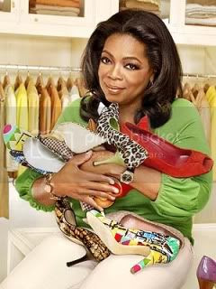 Oprah Winfrey,Shoes