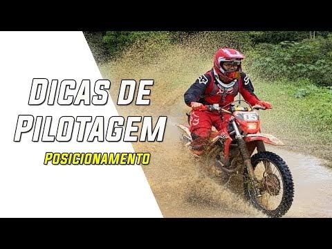 Aprenda a subir desafios em trilha de moto - Parte 1
