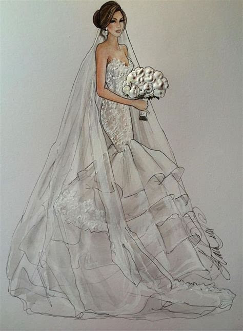 17 Best images about Gown Illustrations on Pinterest