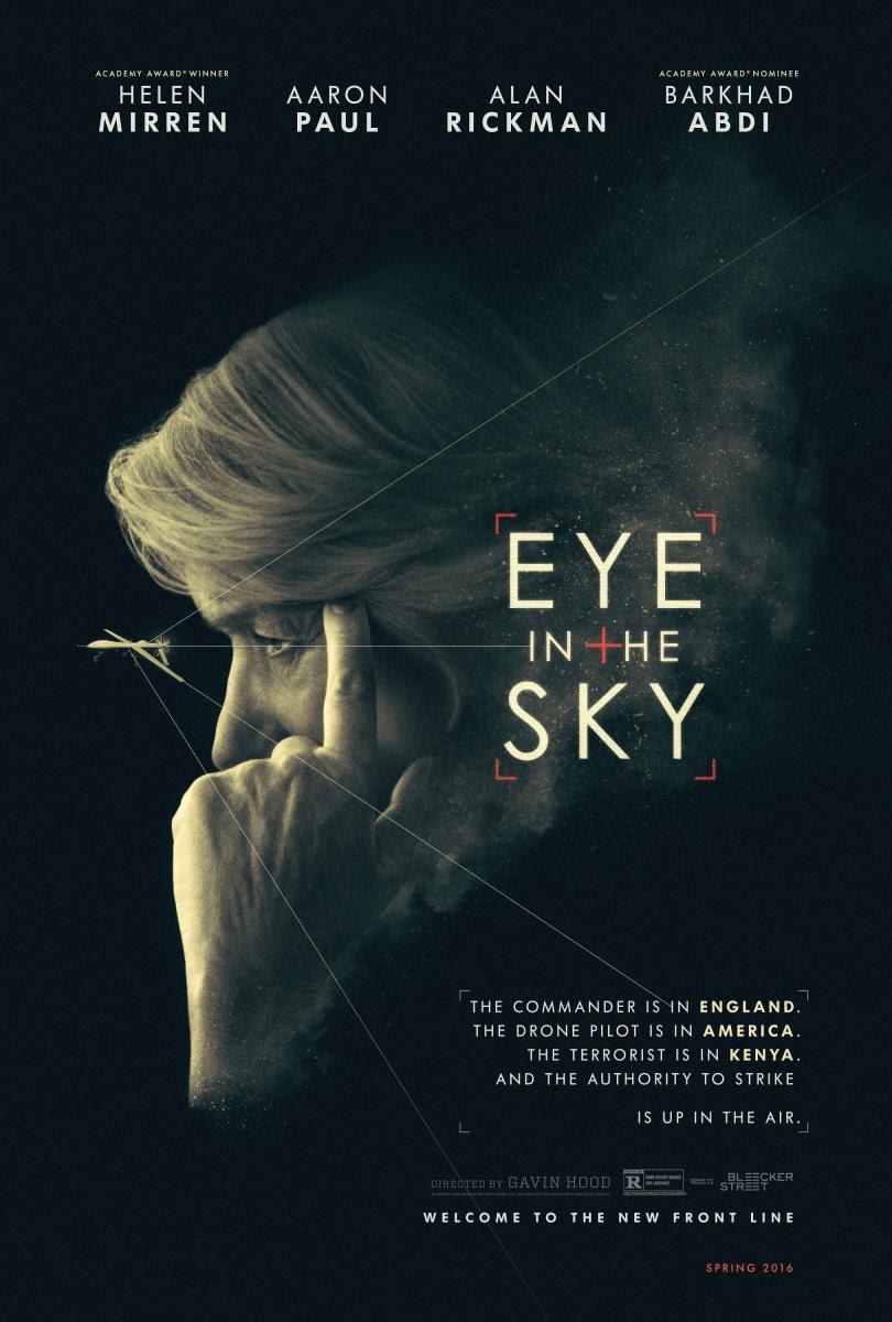 Blog de Cine, Solo Yo, Blog Solo YO, Blogger ALicante, cine, película, cartelera, NosVamosAlCine, Eye in the Sky, Espias en el cielo, Thriller, Bélico, terrorismo,