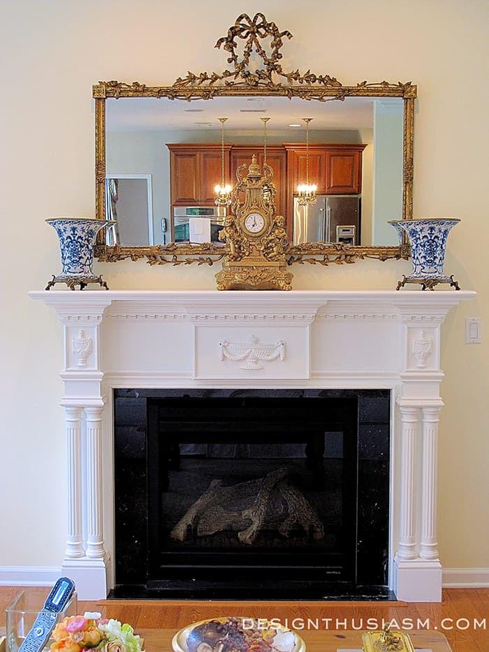 New Fireplace Mantel