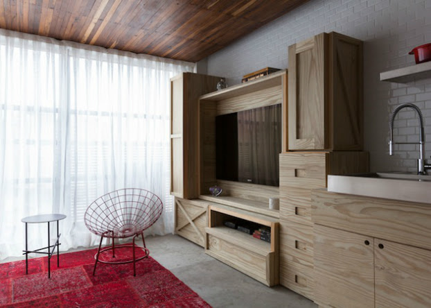 Youthful and Unpretentious Small Apartment 3