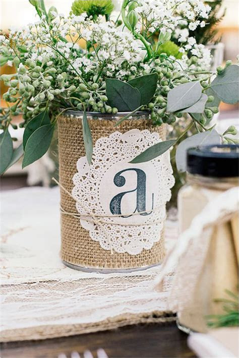 Creative DIY Rustic Wedding Ideas Using Tin Cans   crazyforus