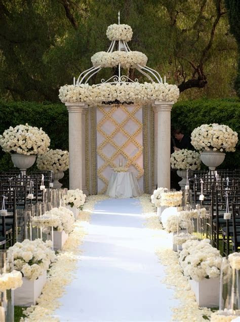 elegant wedding arches archives weddings romantique