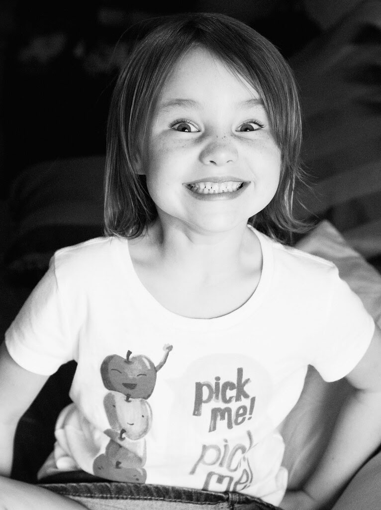 {smiles::: after her first day!}