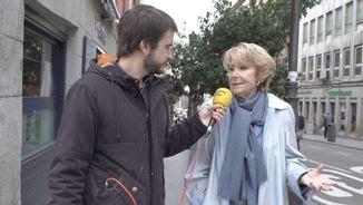 Esperanza Aguirre entrevistada per Ricard Ustrell