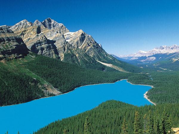 10. Le parc national de Banff, au Canada