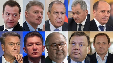 Who's who on US Treasury 'Kremlin List': From PM to head of 'the Russian Google'
