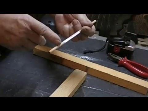 objets d co tutoriels et meubles en bois de palettes bricolage astuce pour assemblage bois. Black Bedroom Furniture Sets. Home Design Ideas