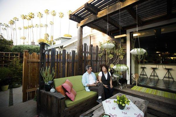 Outdoor decorating with Annette Gutierrez of Potted - latimes.