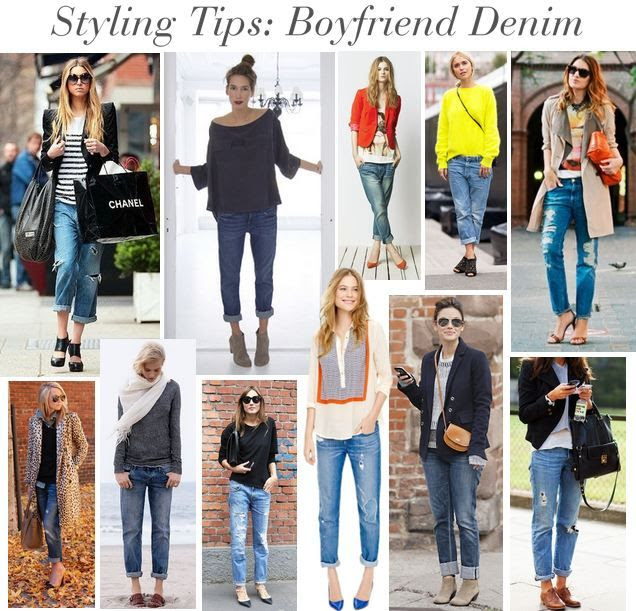 Sweetie Pie Style: Styling Tips: How To Wear Boyfriend Denim
