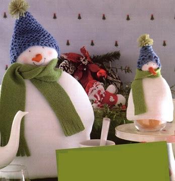 Грелка чайник снеговик своими руками