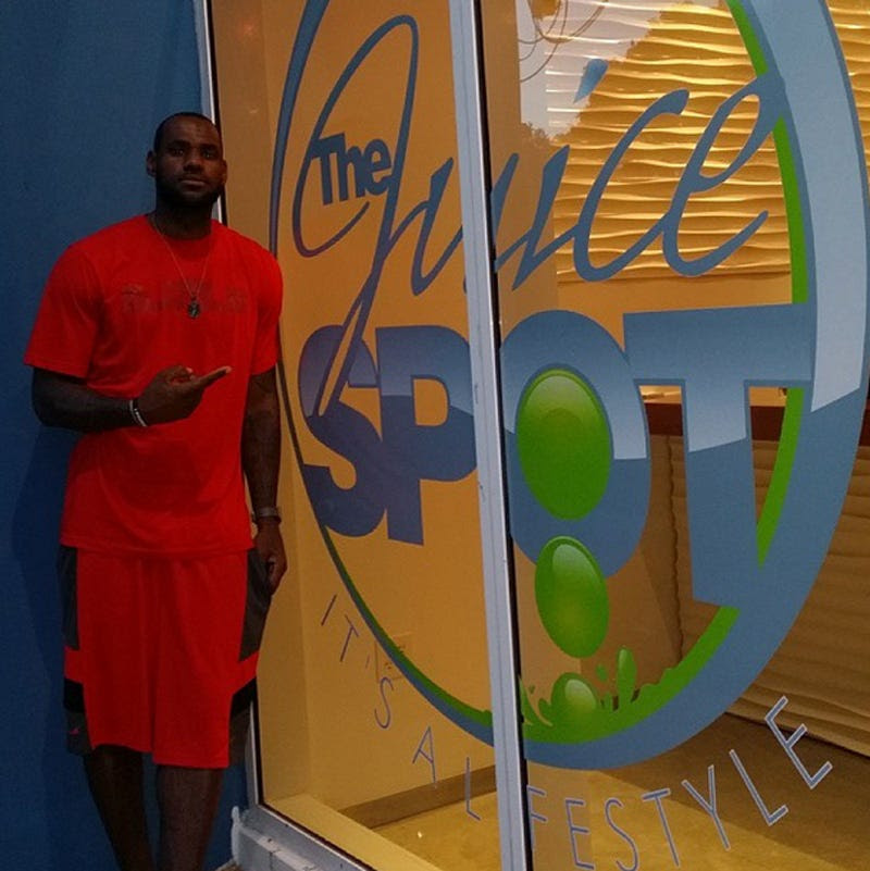 Savannah runs a juice bar in Miami, which she opened when James was still with the Heat.