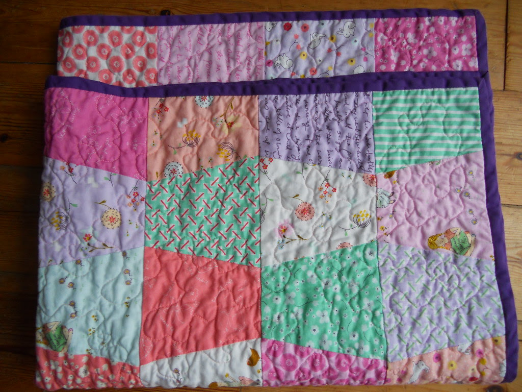 Quilt folded