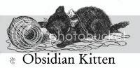 Obsidian Kitten